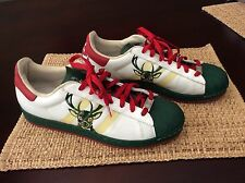 RARE Adidas NBA Series Milwaukee Bucks Men's size US 11 shoes basketball
