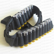 Tactical New Shotgun Bandoleer 55 RD 12 20 GA Gauge Shell Ammo Sling Bandolier
