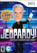 WII JEOPARDY AMERICA'S FAVORITE QUIZ SHOW NEW OVER 2400 CLUES