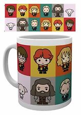 Harry Potter Mug Chibi Official Hermione Hagrid Ron Dobby Draco Brand New Boxed