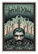 Tara McPherson THERE WILL BE BLOOD Poster SIGNED Ltd Ed Screen Print Moss Delort