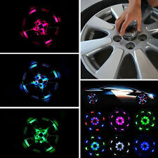 4 Modes 12 LED Car Solar Energy Wheel Tire Rim Light Lamp flash Decoration