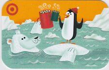 Target Penguin Polar Bear Hot Cocoa Icebergs Winter 2016 Gift Card 790-01-2292