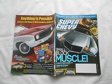 SUPER CHEVY(Magazine)-JUNE,2007-SMALL-BLOCK MUSCLE !-FLAMED & SUPERCHARGER '55