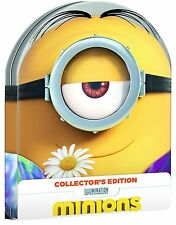 Dvd MINIONS Collector's Edition - (Limited Steelbook) UNIVERSAL PICTURES ..NUOVO