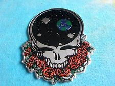 Grateful Dead Space Your Face 3.5 Inch Metal Metallic Sticker
