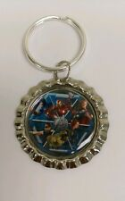 Avengers Age of Ultron Marvel Comics Bottlecap Keyring Keychain