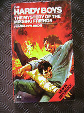 Vintage The Hardy Boys Book by Franklin W Dixon  Mystery of the Missing Friends