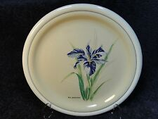 Tienshan Botanical Garden Iris Dinner Plate 10 1/2 inch - Set of 2