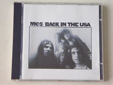 MC5 Back In The USA  - Atlantic CD 8122-71033-2