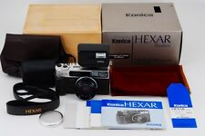 TOP MINT in BOX Konica Hexar Rhodium Limited Edition Film Camera from japan #253