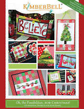 KIMBERBELL OH THE POSSIBILITIES FOR CHRISTMAS PATTERN BOOK, From Kimberbell NEW
