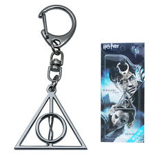 Harry Potter Deathly Hallows Logo Key Ring Chain