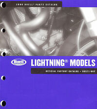 2006 BUELL LIGHTNING MOTORCYCLE PARTS CATALOG MANUAL -NEW SEALED-XB12S-XB9S