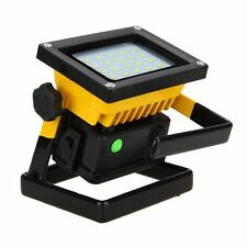 IP67 Waterproof 30W Rechargeable White Floodlight 20 LED Flood Light For Outdoor
