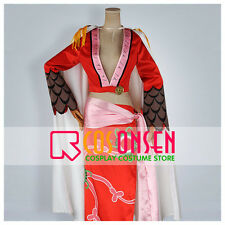 Cosonsen Anime One Piece Boa Hancock Cosplay Costume All Size Custom Made