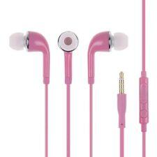 Earphone 3.5mm Headphone Handsfree & Volume Control Mic for Phones iPod Samsung