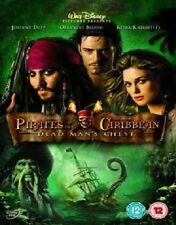 PIRATES OF THE CARIBBEAN DVD THE DEAD MAN'S CHEST 2ND MOVIE SECOND PART 2