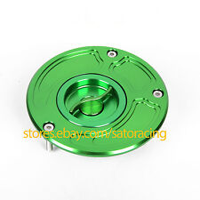 For Kawasaki Ninja 650R/ZX6/9/10/14R /ER6/Z1000/ZRX1200R Fuel Gas Cap Tank Cover