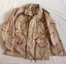 Alpha Industries Cold weather Field Coat Jacket Size Large Army Camo RARE