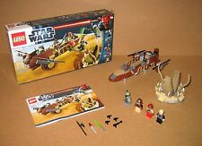 9496 LEGO Desert Skiff – 100% Complete w box & Instructions EX COND 2012