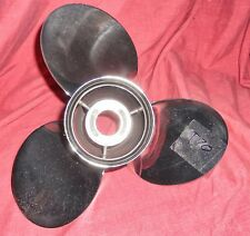 """Turbo Pontoon 1 12 x 11 Stainless Steel Propeller For All 3 1/4"""" Gearcases (T70)"""