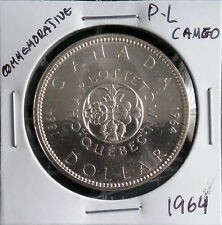 1964 S$1 Silver Canada Dollar P-L Cameo, Please see Well Images.