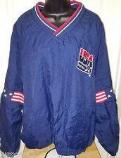 Pro Player Unisex Red/White/Blue USA Olympic Basketball Pullover Jacket Size XL