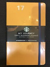 Thailand Starbucks Orange Moleskin Planner 2017 New Limited Edition