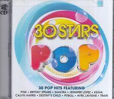 30 Stars Pop Various Pink,Shakira,Jennifer Lopez,Kesha,Pitbull,Calvin Harris,2CD
