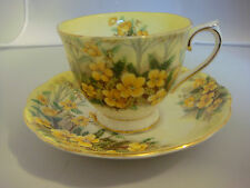 """Royal Albert Cup & Saucer """"Partridge Pea"""" Bone China Made in England"""