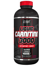 NUTREX LIQUID L-CARNITINE 3000 CHERRY LIM 16OZ WEIGHT LOSS SUPPORT+FREE SHIPPING