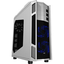 Aerocool X-Predator II White Full Tower Gaming PC Case USB3 2 x 14cm LED Fans