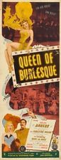 Queen Of Burlesque Insert Movie Poster 14x36 Replica