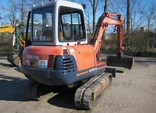 Kubota KX 121-2 Excavator / Digger  - Operators & Parts Manual.