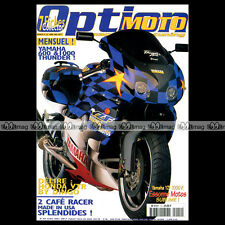 OPTION MOTO N°14-b MBK ROADSTER HONDA VTR 1000 YAMAHA YZF 600 1000 R CAFE RACER