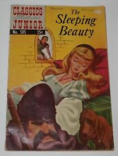 Classics Illustrated Junior #505! The Sleeping Beauty February 1954