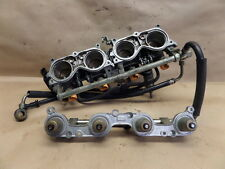 2005 HONDA CBR600RR THROTTLE BODY W FUEL RAIL AND INJECTORS
