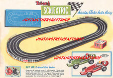 Scalextric 1961 Grand Prix GP 2 Set A3 Size Poster Advert Shop Display Sign
