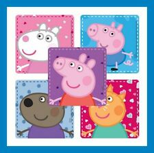 10 Peppa Pig Stickers Party Favors