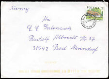 Poland 2001 Cover To Germany #C21204