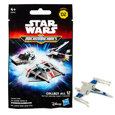 STAR WARS MICRO MACHINES Cieca Sacco Series 2 figure-Blu X-Wing * NUOVISSIMO *