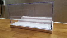 Lego Minifigure display case White base Disney star wars ghostbusters