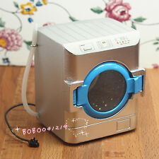 Dollhouse Miniature 1:12 Toy A Metal Washing Machine Height 6.3cm DM135