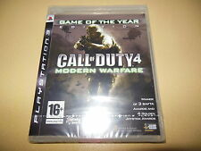 Call Of Duty 4 Modern Warfare GOTY Edition **New & Sealed** PS3