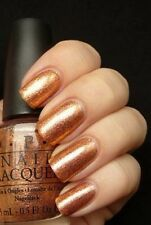 OPI Serena Glam *PROS & BRONZE* Shimmering Golden Bronze Nail Polish Lacquer S74