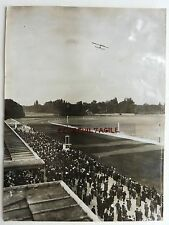 PHOTO HENRI MANUEL 1913 MEETING à LONCHAMP AVION ANCIEN  A25