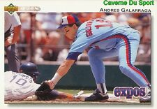 474 ANDRES GALARRAGA MONTREAL EXPOS BASEBALL CARD UPPER DECK 1992