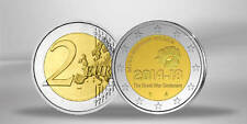 BELGIQUE 2 Euro Commemorative The Great War Centenary 2014-18 2014 UNC