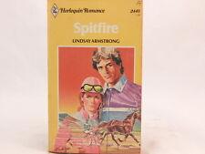 SPITFIRE Lindsay Armstrong HARLEQUIN ROMANCE 1981 NOVEL. PB Vintage